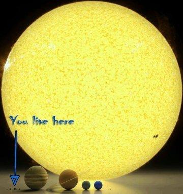 Soldan üçüncüsü Dünyamız...