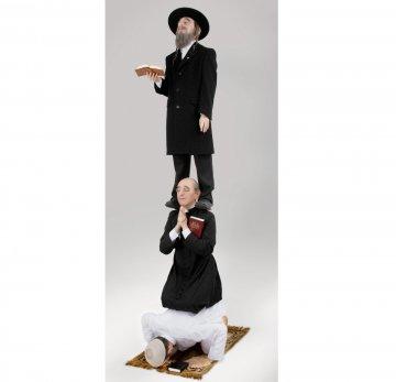 Müslüman - Hristiyan - Yahudi Heykeli R