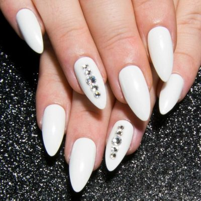 Do you want a white nail design? Just so