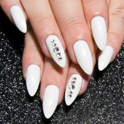 White nail design #naildesigns #nail #nails #nail
