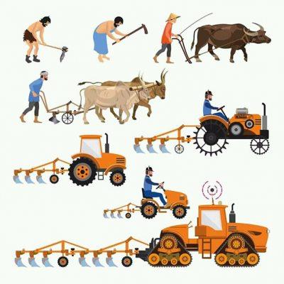 Geçmişten günümüze tarımın gelişimini gösteren güz
