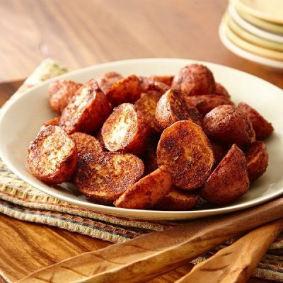 Barbekü soslu kavrulmuş patates   Her gün patate