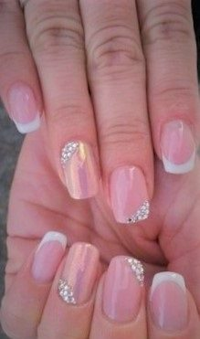 Easy to do, simple and stylish nail desi