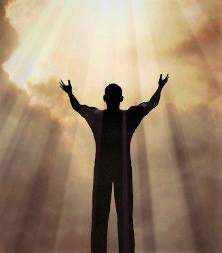 Tanrı'nın zamanında Bir adam, Tanrıyla