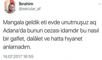 Adana'da bir gariplik, bir terslik, bir naalet...